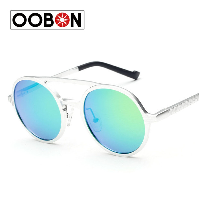 9cdb9941d49 Oobon Men s Lennon Inspired Round Lens Polarized Sunglasses Style Fashion  Women s Teashade Driving Outdoor Sport Eyewear Oculos