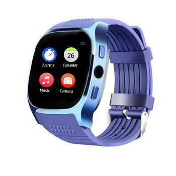 New T8 Bluetooth Smartwatch Support SIM TF Card With Camera Sync Call Message Smart MTK Watch PHONE For Android T10 U8 V8 W8 S8 bluetooth