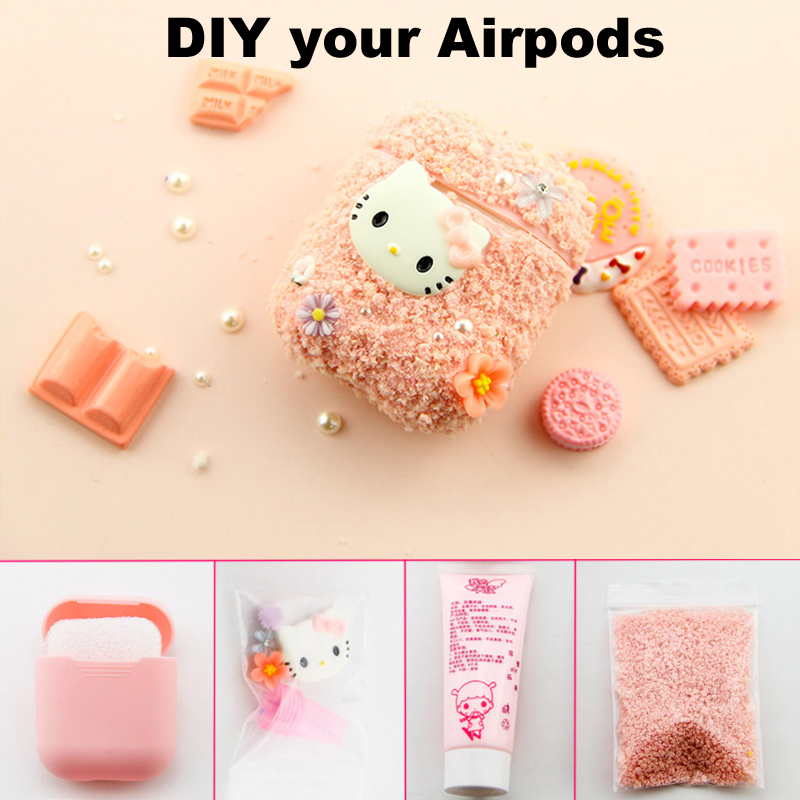 Consumer Electronics Special Section Cute Diy Silicone Case For Apple Airpods Accessories Special 3d Animal Soft Case Cover With Anti-lost Strap Decoration Gifts Toy Portable Audio & Video
