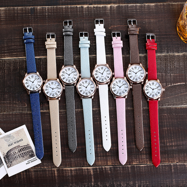 Women's Fashion Shining Band Wristwatches