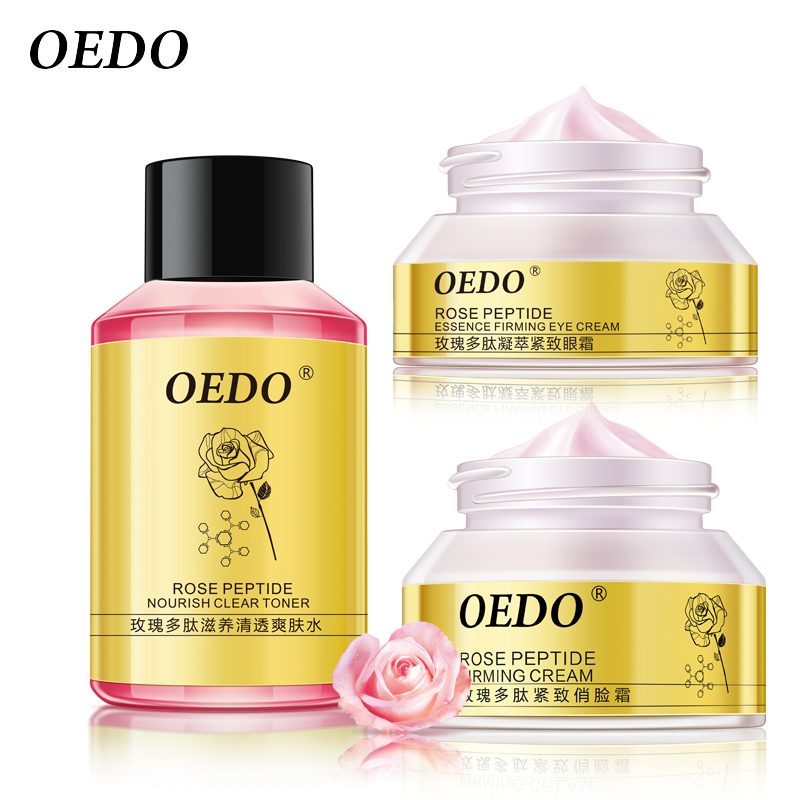 Rose Peptide Series Skin Care Whitening Moisturizing Firming Face Anti-aging Anti Wrinkle Dark Circle Repair Cream Beauty gold anti wrinkle gel face firming cream moisturizing anti aging skin care products beauty products beauty free shipping