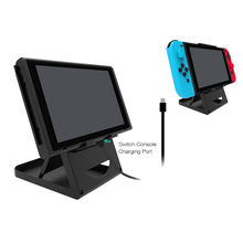 tablet stand For Nintendo Switch Holder Bracket Stand Dock Cradle Game Console Accessories phone holder drop shopping(China)