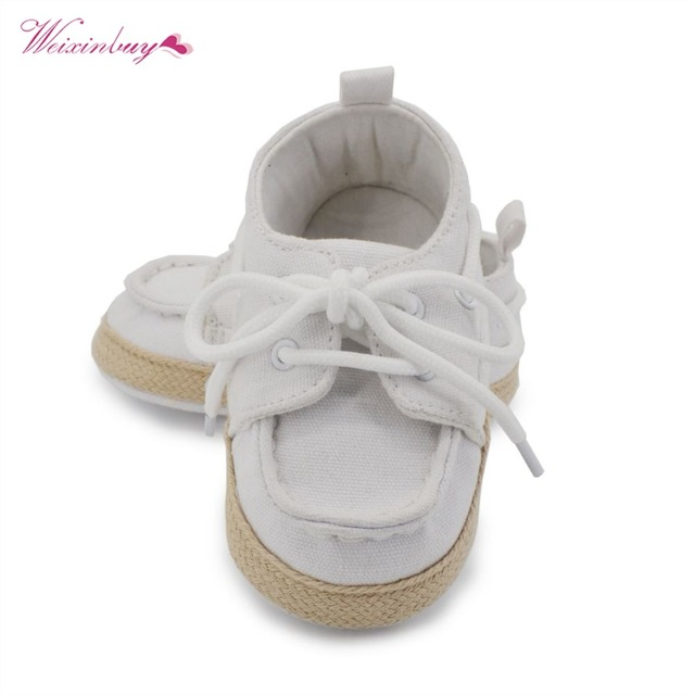 WEIXINBUY Baby Boy Girl Blue Sneakers Soft Bottom Crib Shoes Size Born To 18 Months 5