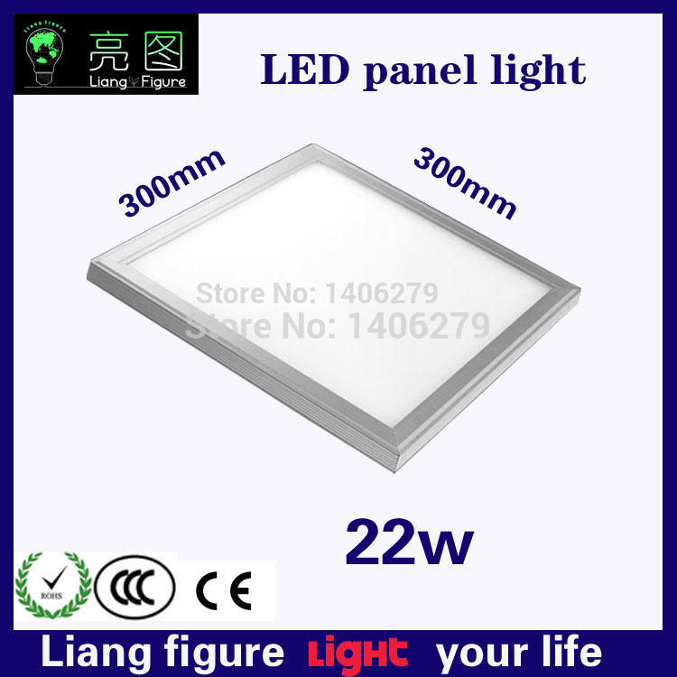 ФОТО Wholesale LED 22W 300*300mm Panel Lamp Light LED ceiling light kitchen lampada plafon led for bedroom living room hotel light