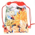 Seven Dragon Ball Cartoon drawstring children's school bags, kids birthday party Favor, Mochila escolar, school kids backpack55
