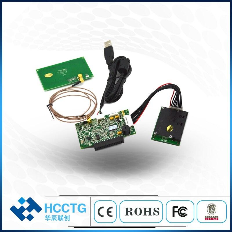 Module de lecteur NFC RFID de carte à puce magnétique 3 en 1 avec HCC-T10-DC PSAM