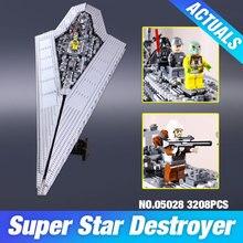 New font b LEPIN b font 05028 Star Wars Execytor Super Star Destroyer Model Building Kit