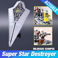 Nueva LEPIN 05028 Star Wars Execytor Super Star Destroyer Modelo Kit de Construcción de Ladrillo Bloque de Juguete de Regalo Compatible 10221