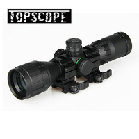 Hunting Optical 3 9x32 AO 1inch Tube Mil dot Compact Riflescope With Sun Shade and QD Rings Tactical Rifle Scope