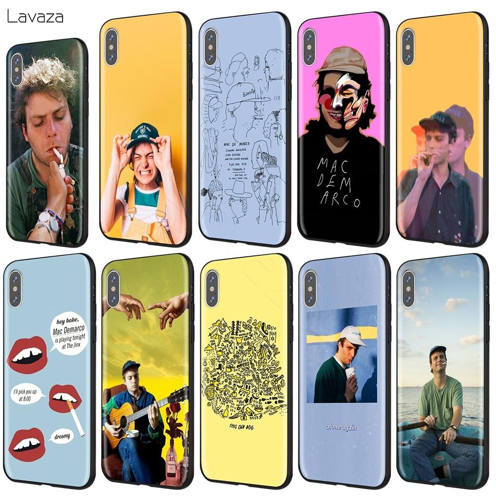Lavaza Mac DeMarco Case for iPhone 11 Pro XS Max XR X 8 7 6 6S Plus 5 5s se