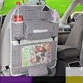 Auto Organizador Carro de Volta Organizador do Assento de Carro de Multi Bolso De Armazenamento Caixa saco ipad saco pendurado para o assento de carro do bebê assento de carro para crianças cobre
