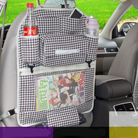 Auto Car Organizer Back Seat Multi Pocket Car Organizer Storage Box Bag Baby Kids Car Seat ipad Hanging Bag For Car Seat Covers