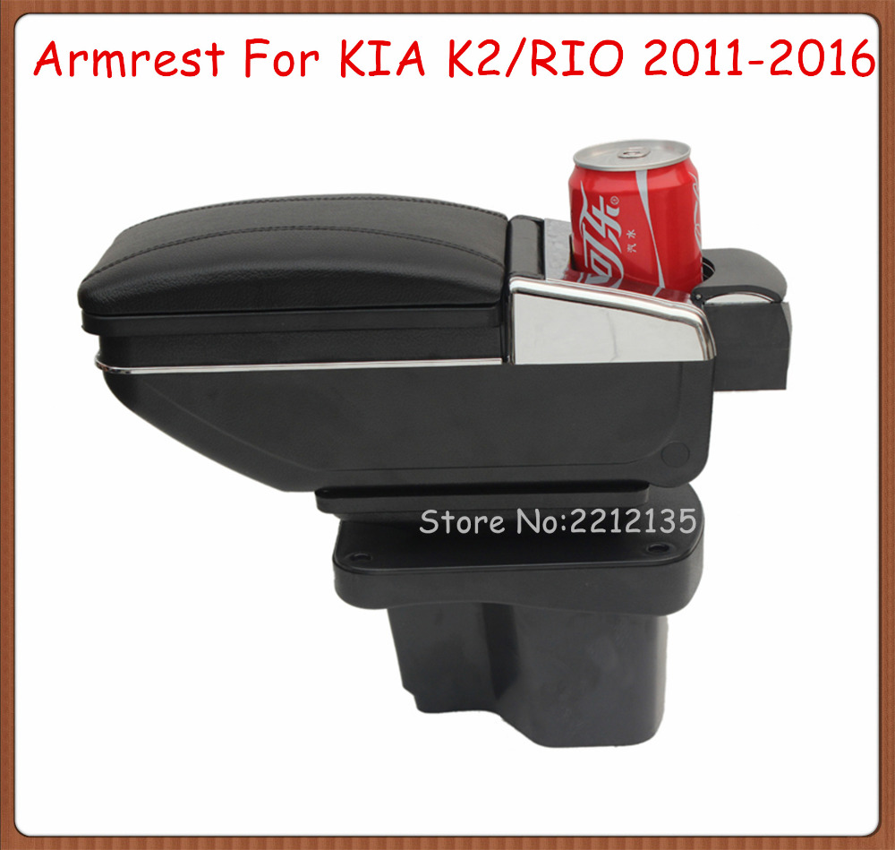 Tireless Rotatable Car Console Box For Kia K2 Rio 2011-2016,car Center Arm Rest With Cup Holder And Ashtray,car Accessories Auto Parts Back To Search Resultsautomobiles & Motorcycles