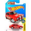 Venda quente Hot Wheels 2016 ford escort rs 1600 vermelho Modelos de carros De Metal Diecast Coleção Crianças Brinquedos Do Carro Do Veículo Para crianças