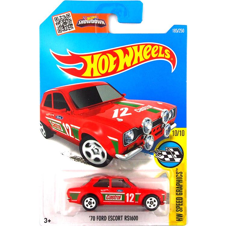 vente chaude hot wheels 2016 ford escort rs 1600 rouge voitures modles en mtal moul sous