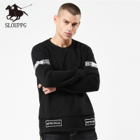 SLOUPPG Pullover Knitted Trutleneck Blouse Top hoodies sweatshirt lil peep male sweatshirt Fashion Men's Autumn Winter Solid