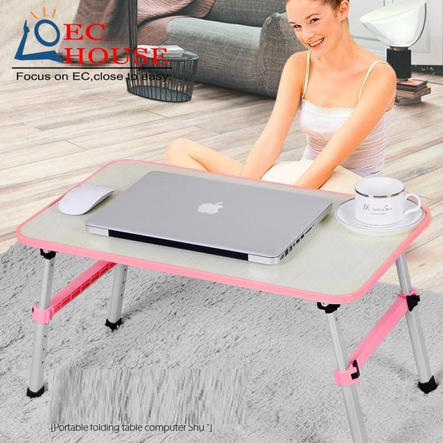 Small folding dormitory artifact lazy table with new metal Yate notebook comter desk on bed FREE SHIPPING