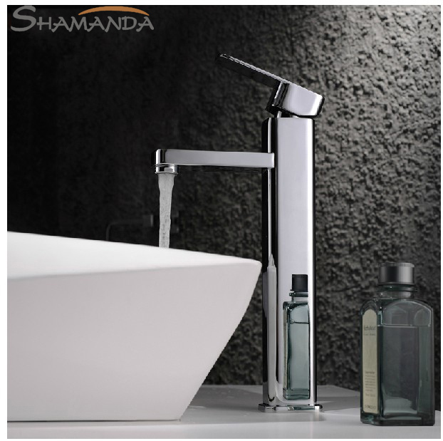 Free Shipping Modern Bathroom Products Chrome Finished Hot and Cold Water Stage Basin Faucet Mixer,Sinlge Handle Tap-1214 xoxo modern bathroom products chrome finished hot and cold water basin faucet mixer single handle water tap 83007