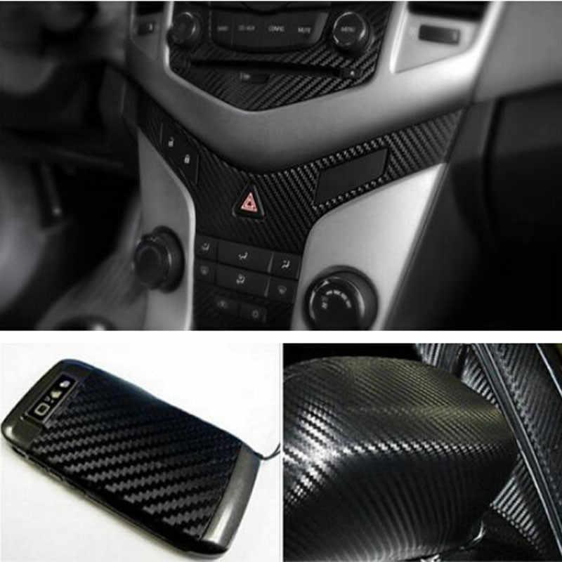 Авто Vehic 3D 127*30 см DIY углерода Волокно Винил обёрточная бумага простыни Roll плёнки стикеры Лидер продаж высокое качество