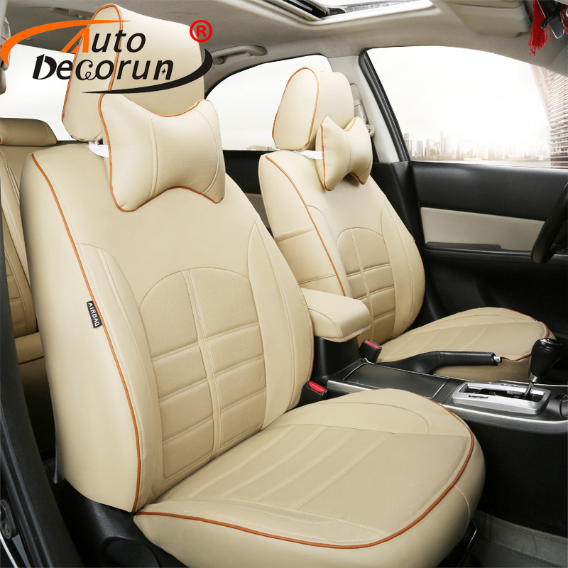 AutoDecorun custom fit leather covers seat for Skoda Superb 1 2 2017 seat covers set car cushion supports cover auto accessories