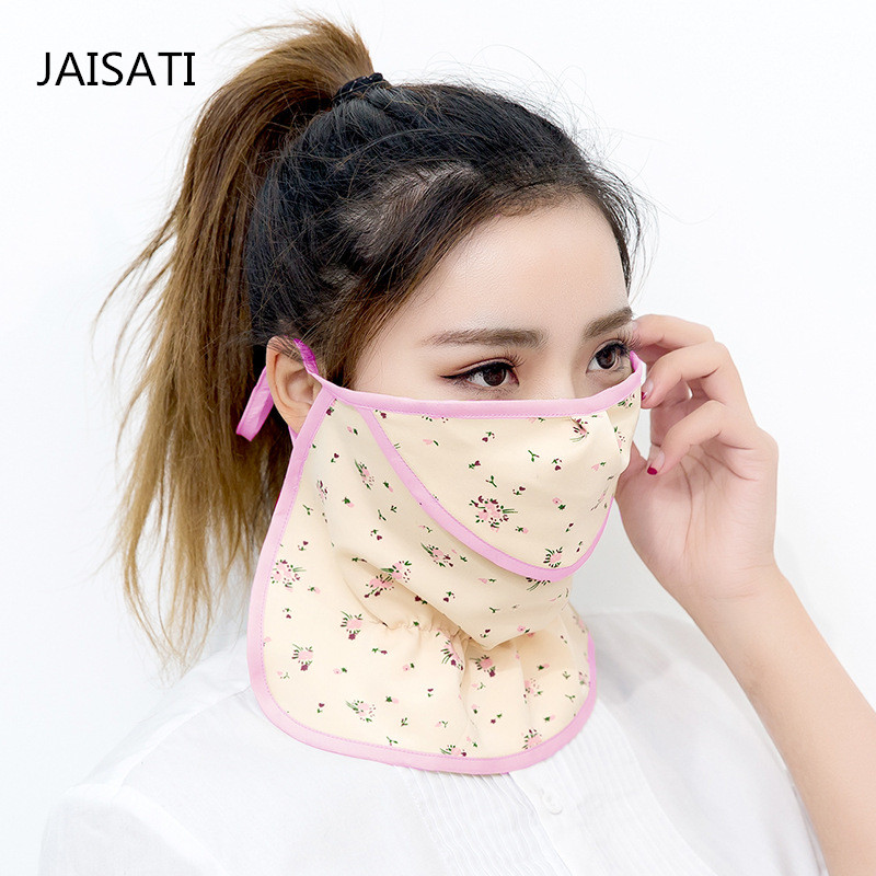 JAISATI Summer thin battery motorcycle  equipment masks dust sunscreen mouth radiation dust mask jaisati sunscreen veil summer dust masks breathable cycling driving neckscreen thin mask