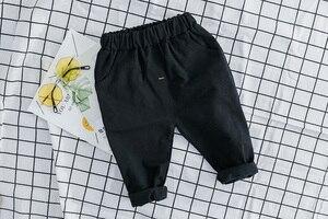 Image 5 - 3PCS תינוקות בני בגדי תלבושות חדש מלא שרוול מעיל + חולצה + מכנסיים ילדים בגדי תלבושות פעוט בני סטים 1 2 3 4 שנים