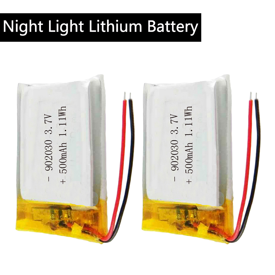3.7V 500mAh 902030 Polymer Lithium Ion / Li-ion Battery For GPS MP3 MP4 MP5 DVD Bluetooth Model Toy Mobile Bluetooth
