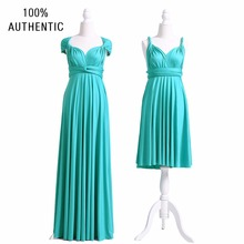Turquoise Bridesmaid Dress, Infinity Dress, SHORT, LONG, PLUS SIZE ...