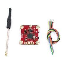 20*20 мм 5,8G fpv-передатчик 40CH 25 mW/200 mW/500 mW регулируемая поддержка tbs smart audio для моделей радиоуправляемых дронов Мультикоптер FPV Racing