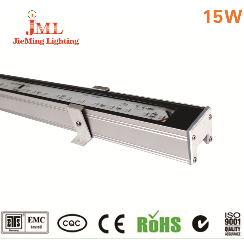 IP65 outdoor led wall washer light 100cm Bar lighting 15w linear lamp led arruela de parede holofote industry lamp promote 24v 100 cm linear bar 60w rgb led wall washer light fcc saa ce