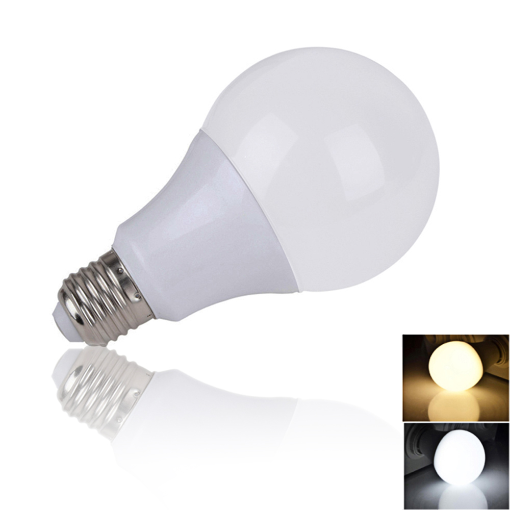 Rayway LED Bulb Lamps E27 220V-240V Indoor Light Bulb Smart IC Real Power 3W 7W 12W 15W High Brightness Lampada LED Bombillas