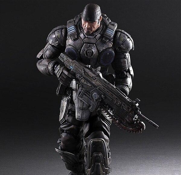 Фигурка Маркус Феникс Gears of War 27 см Play Arts