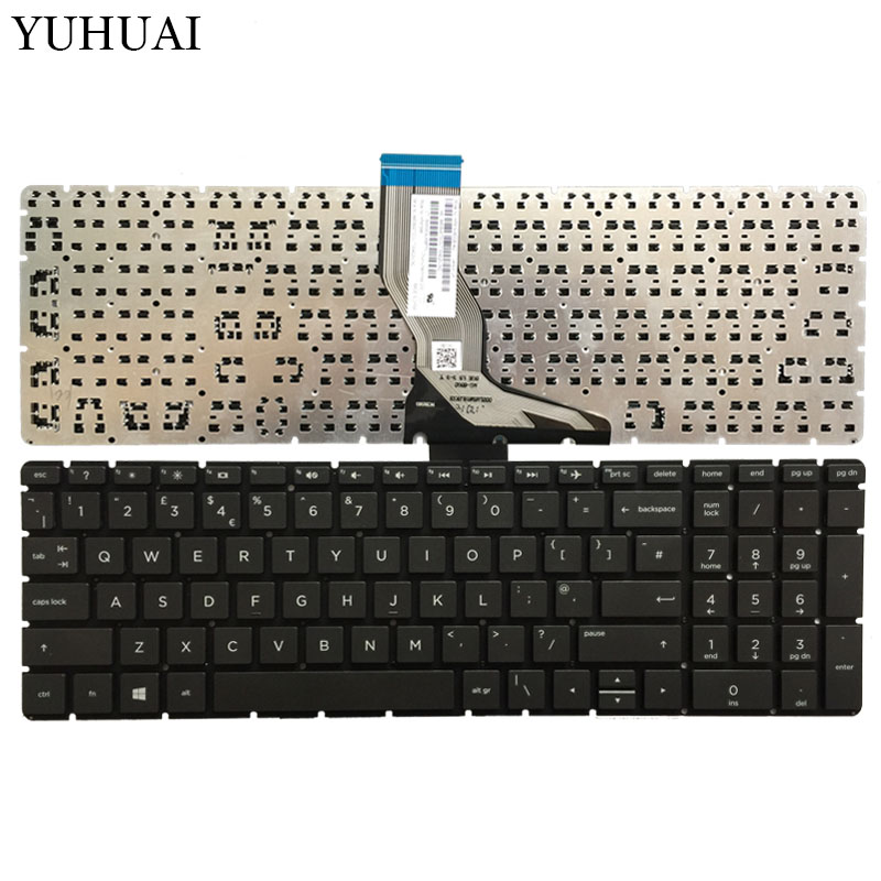 New For HP 250 G6 255 G6 256 G6 258 G6 keyboard Russian black