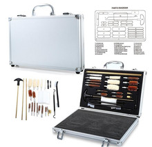 Kit doutils de nettoyage de pipe de Paintball, accessoires pour pistolet, pistolet de poing, Kit doutils de nettoyage de tuyau de Paintball avec boîte pratique pour marqueurs de Paintball