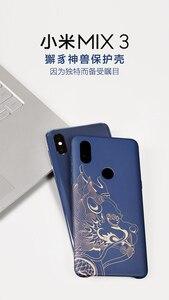 Image 5 - Originale Xiaomi Mi 3 DELLA MISCELA di Caso (4g version) di lusso dipinti Dura del PC Copertura di Caso di Xiaomi Mi MIX3 DELLA MISCELA 3 Della Copertura ultra sottile Funda Coque