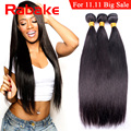 Malaysian Virgin Hair Straight Unprocessed Virgin Human Hair Malaysian Straight Hair 3 Bundles Wet And Wavy Human Hair Extension