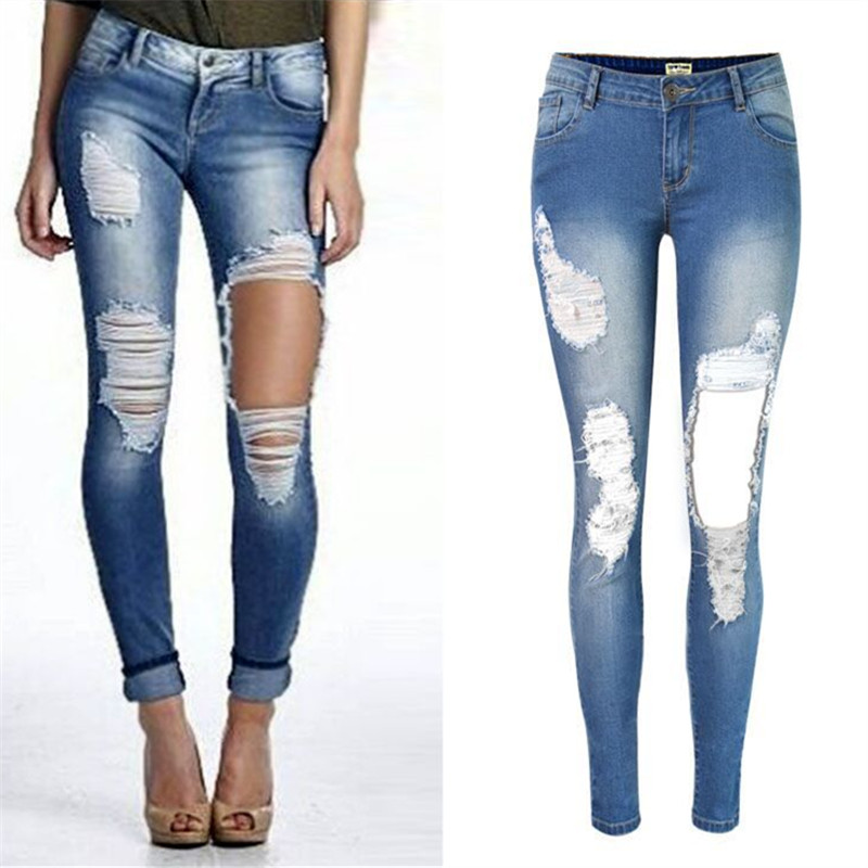 Compare Prices on Big Ripped Jeans- Online Shopping/Buy Low Price ...