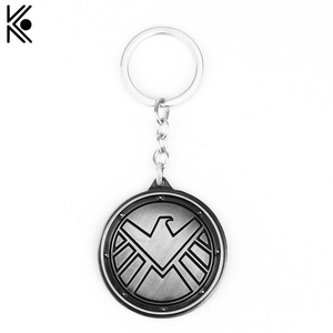 Clearance Agents Of S.H.I.E.L.D. Keychain Shield Badge Metal Keychain Keyrings Porte Clef Chaveiro Key Holder Maxi Jewelry F — bequmcmvl