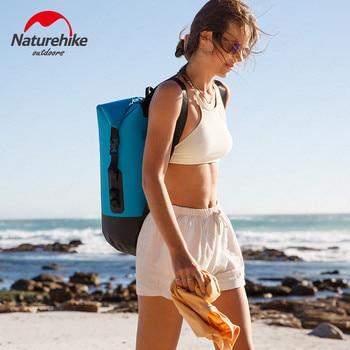 Naturehike Waterproof Bag Dry Bag TPU 20/30/40L Large Capacity Beach Swimming Bag Ultralight Drift Pack Backpack NH18F031-S 5