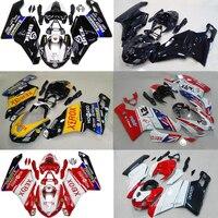 Plans à personnaliser Pour Ducati 999 749 2003-2004 moulage par injection Plastique ABS carénage Kit Carrosserie Moto CB02