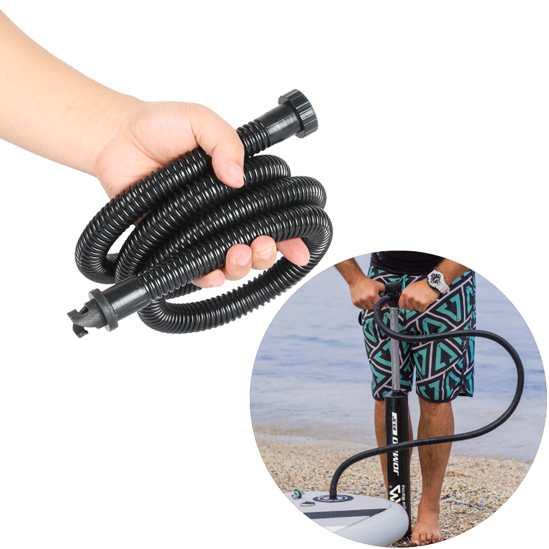 soft inflation tube high pressure hand pump for stand up paddle board aqua marina zray pump inflatable boat sup pump accessory