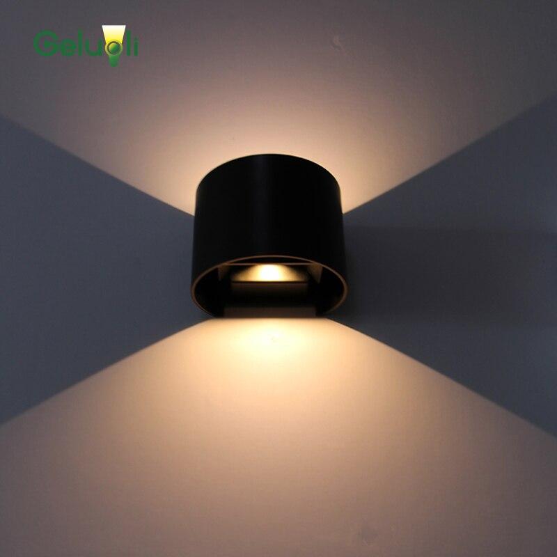 방수 옥외 조명 벽 아래로 조정 가능한 벽 램프 / led - 야외 조명