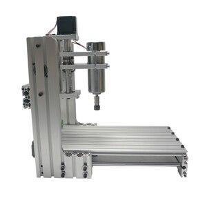 Image 4 - 3 4 5 axis aluminium mini cnc router machine voor hout reliëf embossment pcb pvc DIY frezen boren graveren bal schroef USB