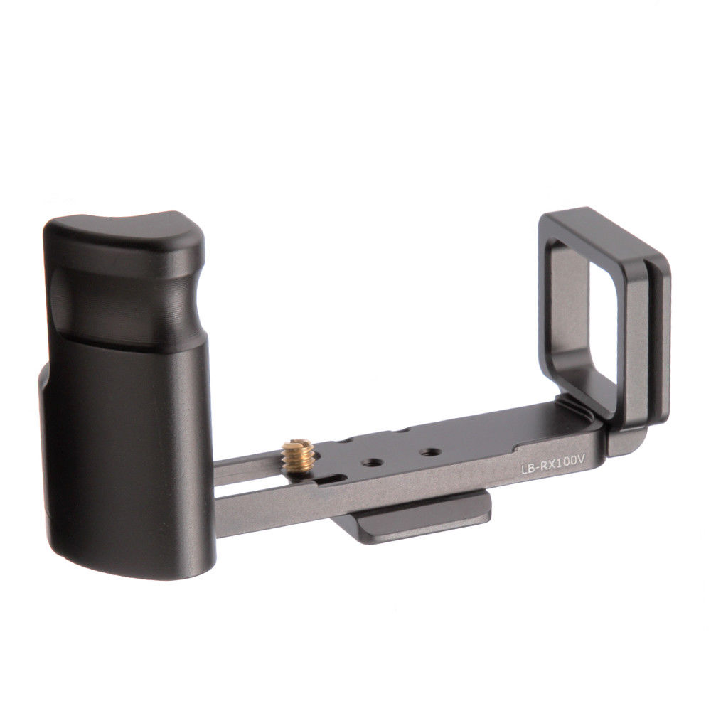 QR Quick Release Plate Vertical L-Shaped Bracket Grip Holder for SONY <font><b>RX100</b></font> Mark V VI Camera image