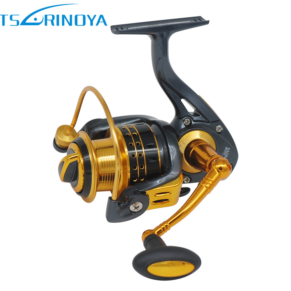 TSURINOYA 9+1BB Spinning Fishing Reel Fishing Wheel Carretilha Para Pesca Spinning Reel Pesca Coil Moulinet Peche Free Shipping fddl 9000 10000 large long shot fishing wheel 12 1bb 4 9 1 full metal line cup spinning reel fishing reel carretilha para pesca