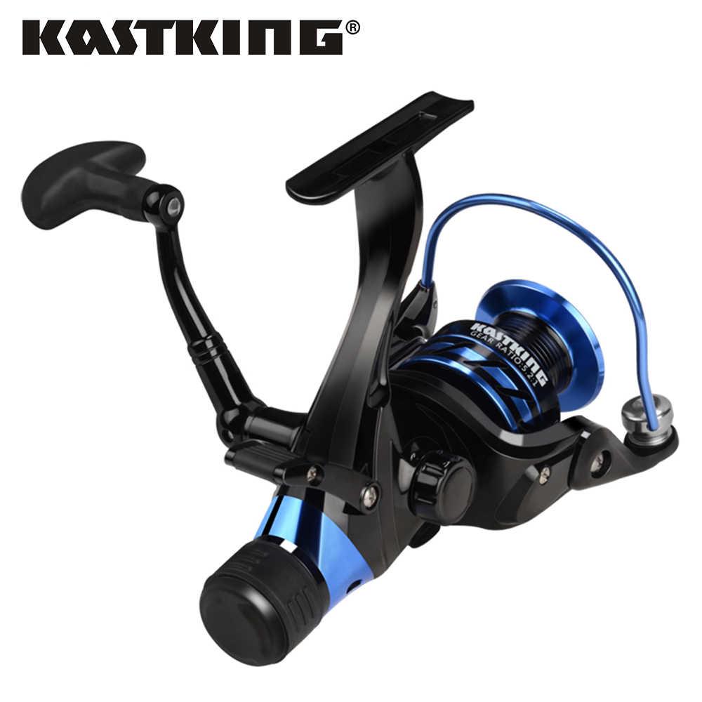 KastKing Pontus 9 + 1 الكرات الخلفية السحب المزدوج وقف نظام 7 كجم أقصى قوة السحب المياه العذبة الكارب باس الغزل بكرة الصيد