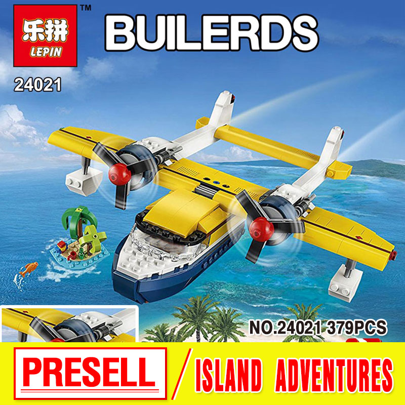 Lepin 24021 379Pcs Changing Series The Pirate Adventure Tour Set Children Educational Building Blocks Bricks Toys Model 31064 lepin 22001 pirates series the imperial flagship model building blocks set pirate ship lepins toys for children clone 10210