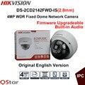 Hikvision Original English Version Surveillance Camera DS-2CD2142FWD-IS(2.8mm) 4MP CCTV IP Camera POE Audio Security Camera P2P