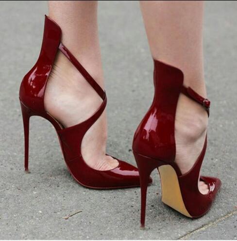stiletto zapatos de las mujeres zapatos de tacón alto 11 cm mujeres