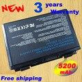 Nueva batería del ordenador portátil para ASUS k50, k50a, k50ab, k50ad, k50ae, k50af, k50c, k50ij, K50IN k40, k40e, k40ij, nave rápida K40IN